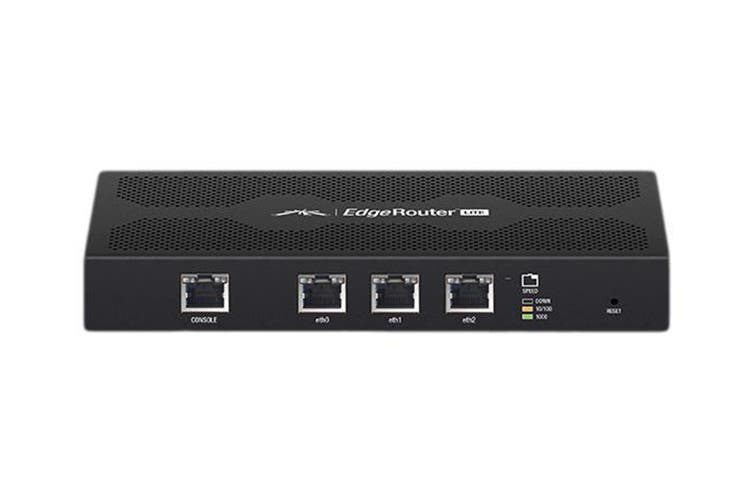 Ubiquiti EdgeRouter Lite 3 Port Gigabit Switch  (ERLITE-3)
