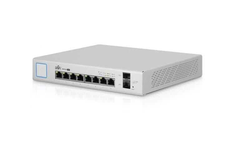 Ubiquiti UniFi 150W 8 Port Managed PoE+ Gigabit Switch  (US-8-150W)