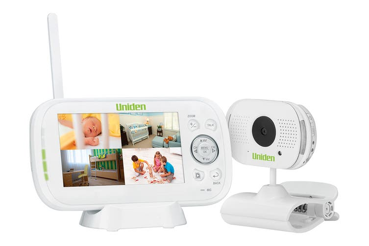 """Uniden 4.3"""" Digital Wireless Baby Video Monitor with Remote Viewing"""