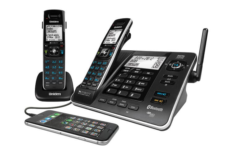 Uniden XDECT8355 Digital Technology Cordless Phone System (2 Phones)