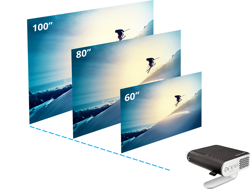 ViewSonic M1 Portable DLP Projector