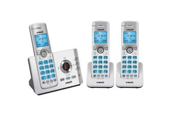Vtech 17550 3-Handset Dect6.0 Cordless Phone With Mobileconnect