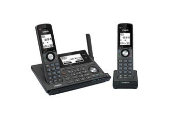 Vtech 17850 Long Range 2-Handset Dect360 Cordless Phone With Mobileconnect
