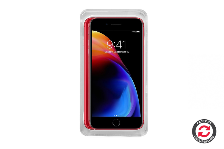 Apple iPhone 8 Refurbished (256GB, RED - Special Edition) - A Grade