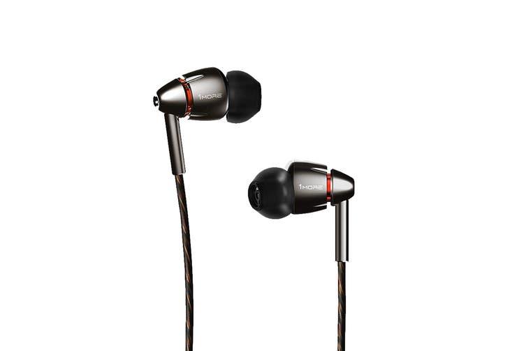 1MORE E1010 Quad Driver In-Ear Headphones (Grey)