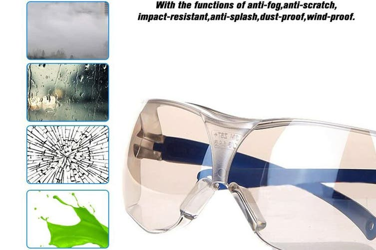 3M 10436 Safety Glasses Anti-Shock PC Lens Eyewear