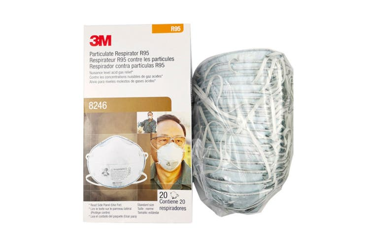 3M R95 8246 Particulate Respirator R95 - (20 Pack)