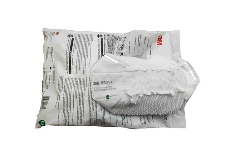 3M 9501+ KN95 Particulate Respirator Mask (50 Pack)