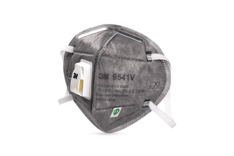 3M 9541V KN95 Particulate Respirator Mask with Valve (20 Pack)