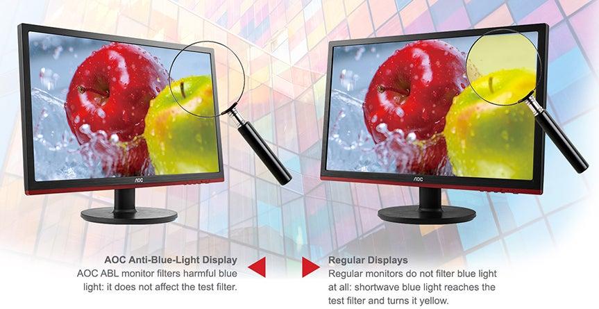 Anti Blue Technology