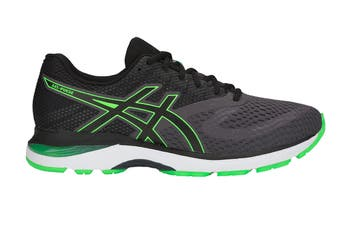 ASICS Men's GEL-Pulse 10 Running Shoe (Dark Grey/Green Gecko, Size 8.5)