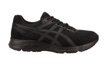 ASICS Men's GEL-Contend 5 Running Shoe (Black/Dark Grey, Size 11.5)