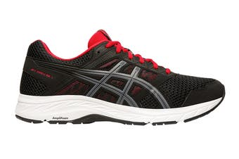 ASICS Men's Gel-Contend 5 Running Shoe (Black/Metropolis, Size 12 US)