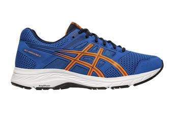 ASICS Men's Gel-Contend 5 Running Shoe (Lake Drive/Shocking Orange, Size 9.5 US)