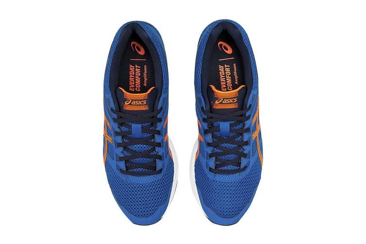 ASICS Men's Gel-Contend 5 Running Shoe (Lake Drive/Shocking Orange, Size 9.5 US)