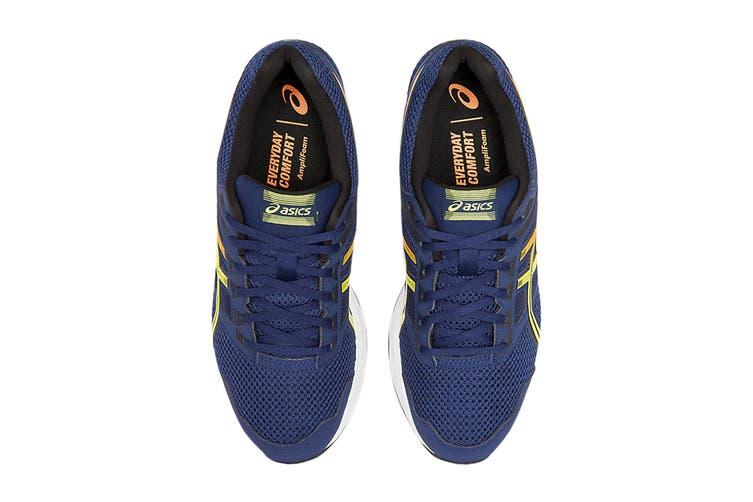 ASICS Men's Gel-Contend 5 Running Shoe (Blue Expanse/Sour Yuzu, Size 12 US)