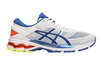 ASICS Men's Gel-Kayano 26 Running Shoe (White/Lake Drive)