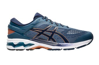 ASICS Men's Gel-Kayano 26 Running Shoe (Grand Shark/Peacoat, Size 7.5 US)
