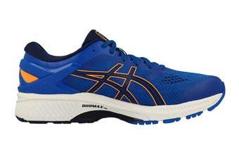 ASICS Men's Gel-Kayano 26 Running Shoe (Tuna Blue/White)