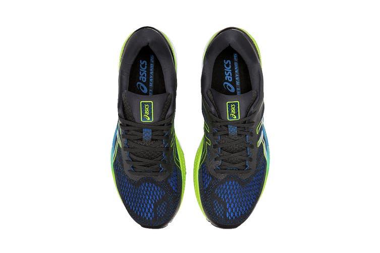 ASICS Men's Gel-Kayano 26 Running Shoe (Black/Electric Blue, Size 8.5 US)