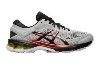 ASICS Men's Gel-Kayano 26 Running Shoe (Piedmont Grey/Black)