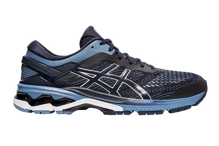 ASICS Men's Gel-Kayano 26 Running Shoe (Midnight/Grey Floss, Size 12.5 US)