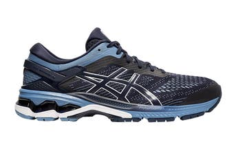 ASICS Men's Gel-Kayano 26 Running Shoe (Midnight/Grey Floss)