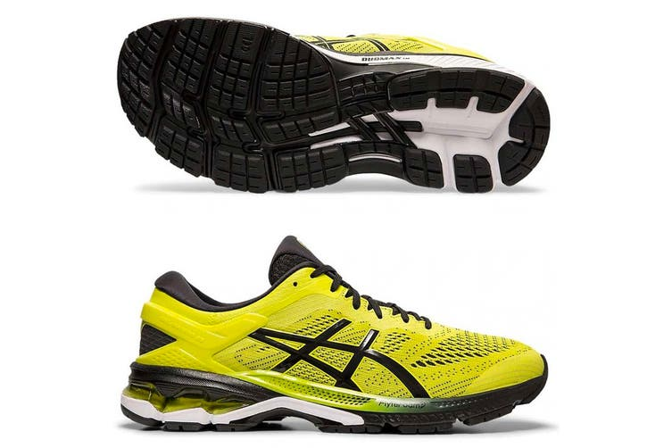 Asics Men GEL-KAYANO 26 (Sour Yuzu/Black, Size 8 US)