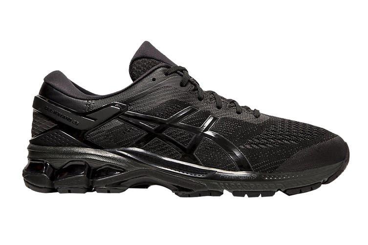 ASICS Men's Gel-Kayano 26 (2E Wide) Running Shoe (Black/Black, Size 9.5 US)