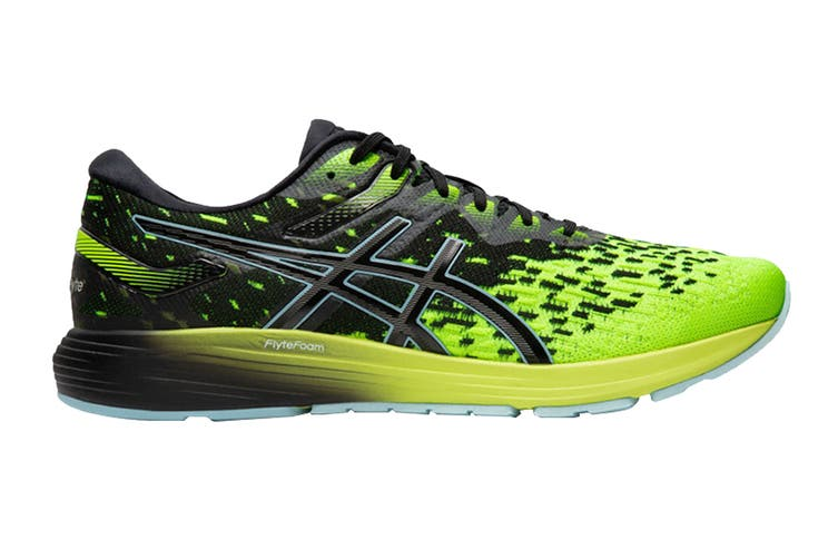 ASICS Men's Dynaflyte 4 Running Shoe (Black/Safety Yellow, Size 10.5 US)