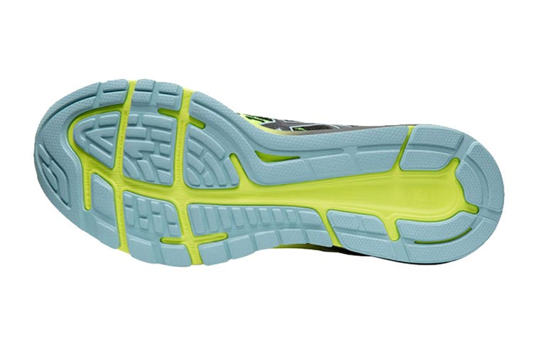 ASICS Men's Dynaflyte 4 Running Shoe (Black/Safety Yellow, Size 12 US)