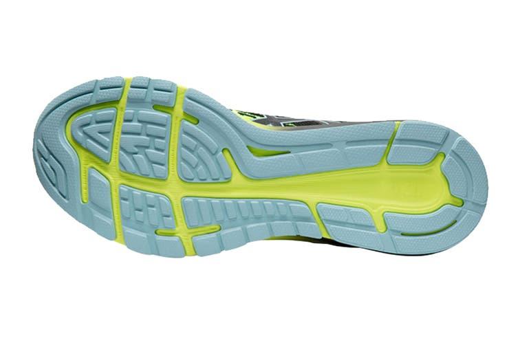 ASICS Men's Dynaflyte 4 Running Shoe (Black/Safety Yellow, Size 9.5 US)