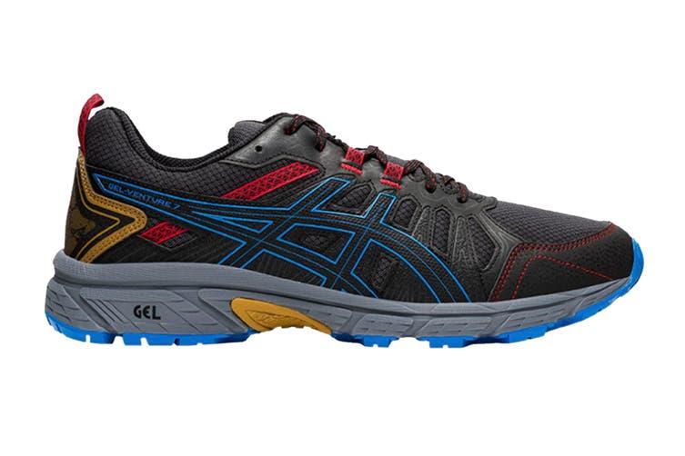 ASICS Men's Gel-Venture 7 Running Shoe (Graphite Grey/Directoire Blue, Size 12.5 US)