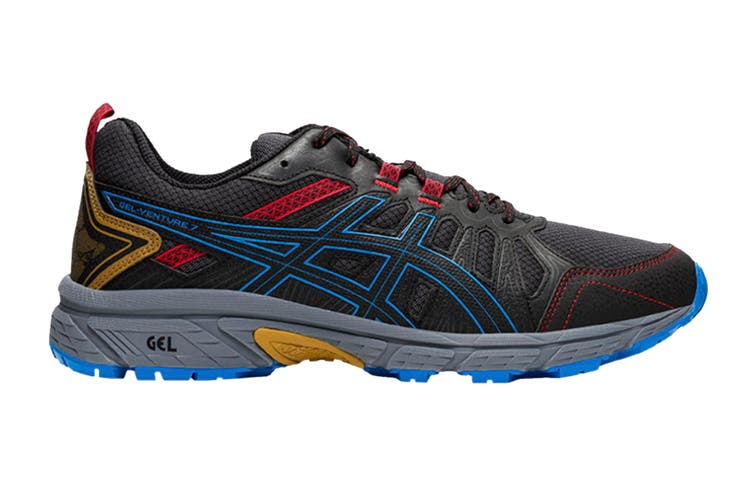ASICS Men's Gel-Venture 7 Running Shoe (Graphite Grey/Directoire Blue, Size 7.5 US)