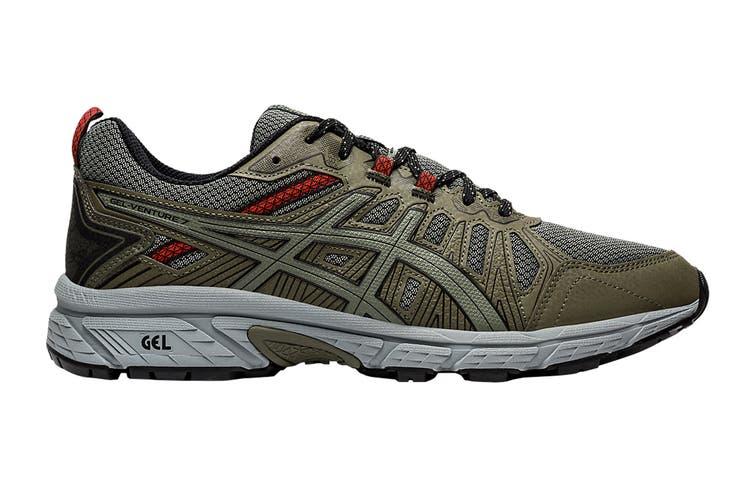 ASICS Men's Gel-Venture 7 Running Shoe (Mantle Green/Lichen Green, Size 12.5 US)