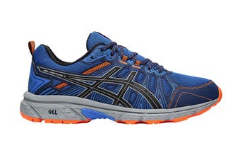 ASICS Men's Gel-Venture 7 Running Shoe (Electric Blue/Sheet Rock, Size 12 US)