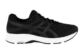 ASICS Men's Gel-Contend 6 Running Shoe (Black/Carrier Grey, Size 8.5 US)