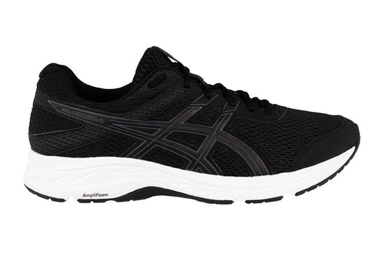 ASICS Men's Gel-Contend 6 Running Shoe (Black/Carrier Grey, Size 9.5 US)