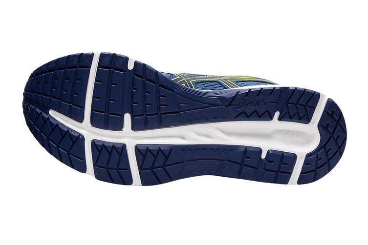 ASICS Men's Gel-Contend 6 Running Shoe (Grand Shark/Vibrant Yellow, Size 11 US)