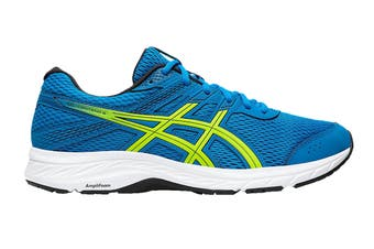 ASICS Men's Gel-Contend 6 Running Shoe (Directoire Blue/Neon Lime, Size 9.5 US)