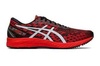 ASICS Men's Gel-DS Trainer 25 Running Shoe (Fiery Red/White, Size 7.5 US)
