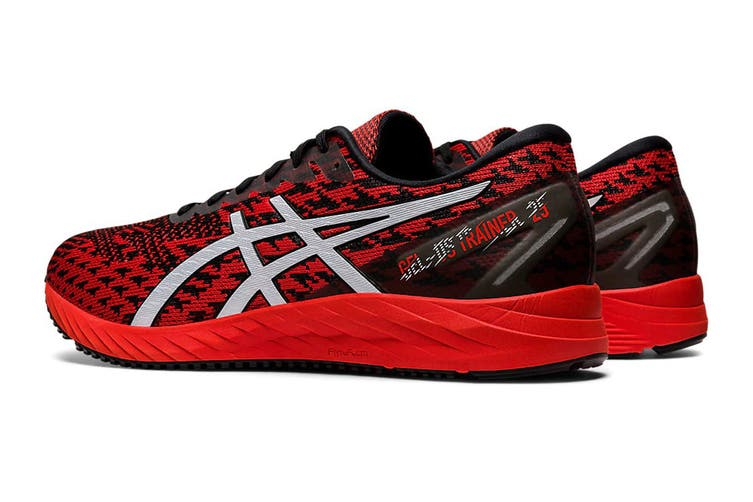 ASICS Men's Gel-DS Trainer 25 Running Shoe (Fiery Red/White, Size 7 US)