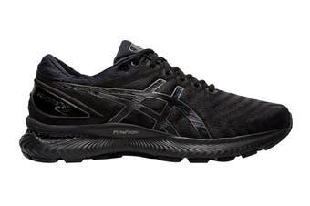 ASICS Men's Gel-Nimbus 22 Running Shoe (Black/Black)