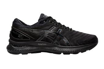 ASICS Men's Gel-Nimbus 22 Running Shoe (Black/Black, Size 9.5 US)