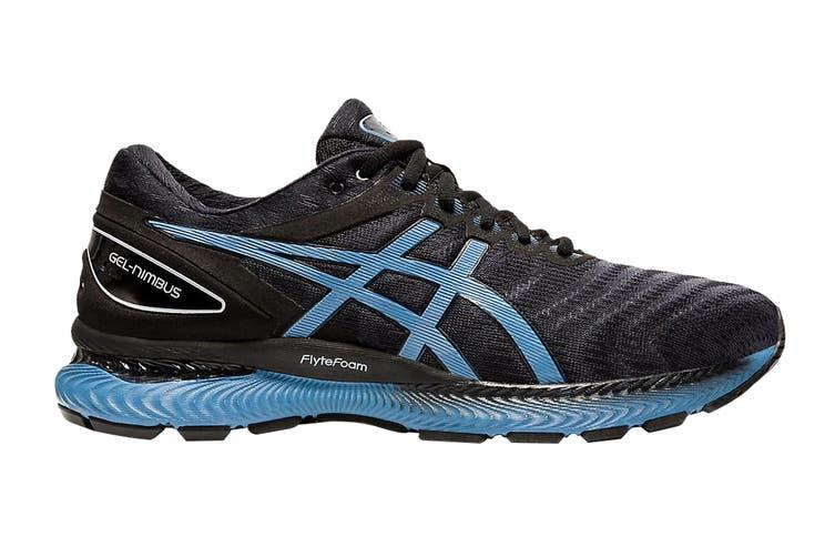 Asics Men's Gel-Nimbus 22 Running Shoe (Black/Grey Floss, Size 9 US)