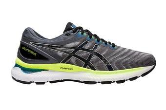 ASICS Men's Gel-Nimbus 22 Running Shoe (Piedmont Grey/Black, Size 11 US)