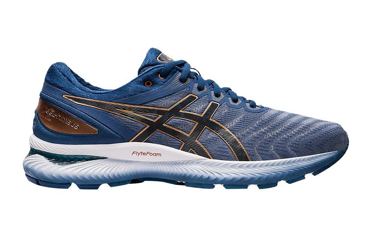 ASICS Men's Gel-Nimbus 22 Running Shoe (Sheet Rock/Graphite Grey, Size 8 US)