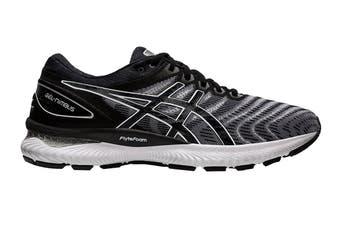 ASICS Men's Gel-Nimbus 22 Running Shoe (White/Black, Size 12 US)