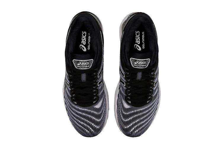 ASICS Men's Gel-Nimbus 22 Running Shoe (White/Black, Size 14 US)
