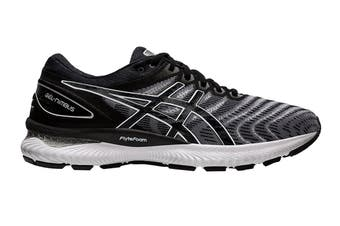 ASICS Men's Gel-Nimbus 22 Running Shoe (White/Black, Size 9.5 US)